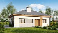 Вариант исполнения проекта дома Z273 a