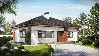 Вариант исполнения проекта дома Z273