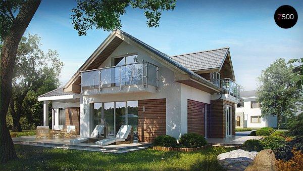 Проект дома Z275