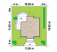 Минимальные размеры участка для проекта Z27