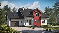 Проект дома с двумя большими гаражами Z28 GL