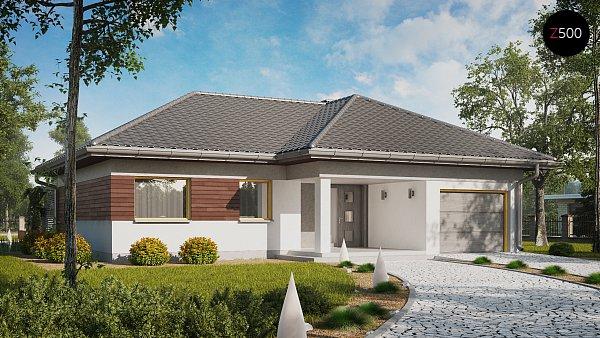 Проект дома Z280
