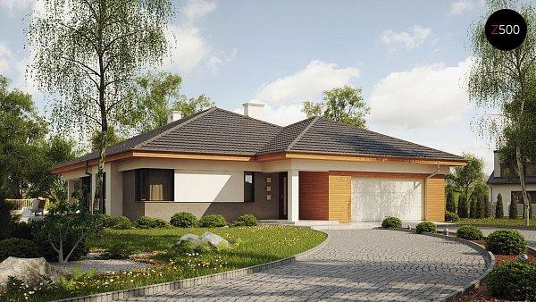 Проект дома Z281