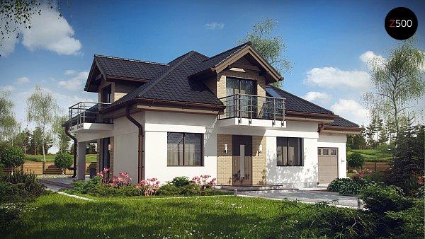 Проект дома Z283