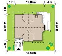 Минимальные размеры участка для проекта Z28