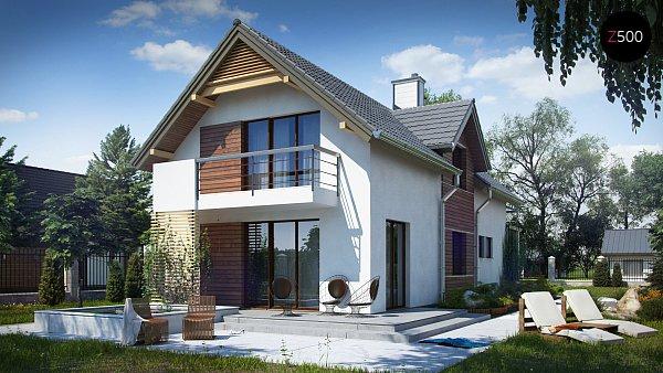 Проект дома Z293