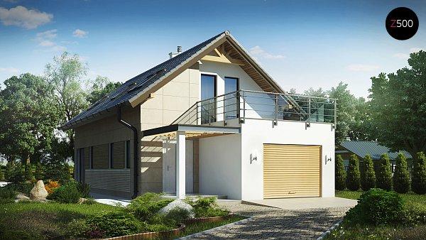 Проект дома Z299