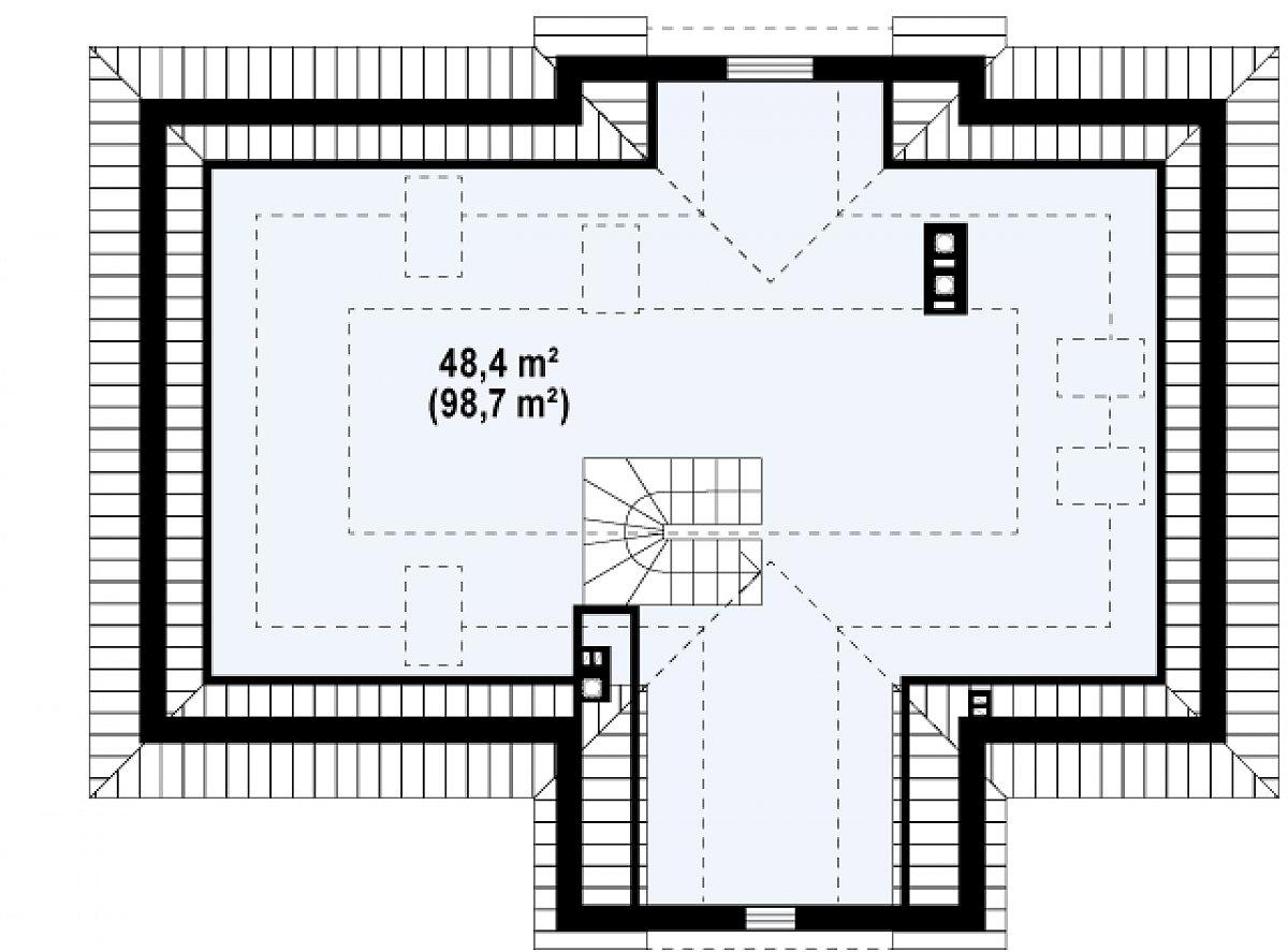 Второго этажа нет дома Z2