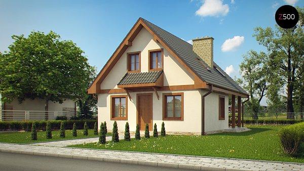 Проект дома Z30 L bl