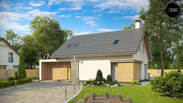 Проект дома Z305