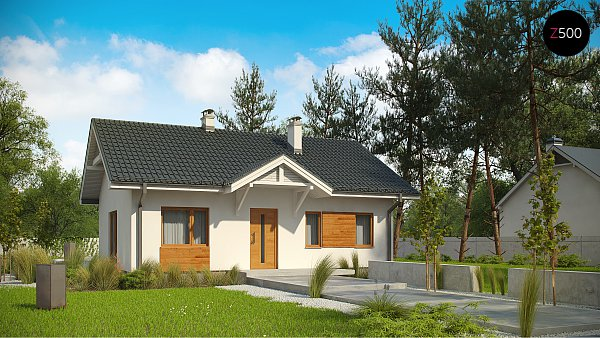 Проект дома Z308