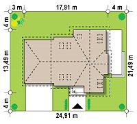 Минимальные размеры участка для проекта Z31
