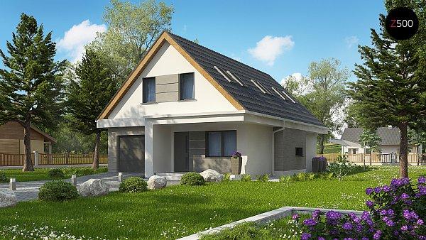 Проект дома Z324