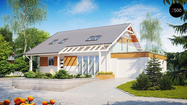 Проект дома Z36