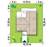 Минимальные размеры участка для проекта Z37