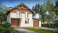 Проект дома Z38 D L GP