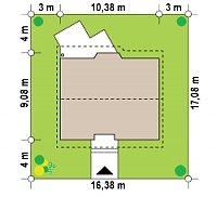 Минимальные размеры участка для проекта Z40 os