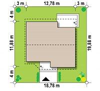 Минимальные размеры участка для проекта Z41