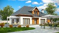 Вариант исполнения проекта дома Z50 A