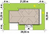 Минимальные размеры участка для проекта Z50