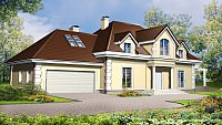 Вариант исполнения проекта дома Z50