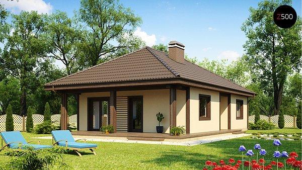 Проект дома Z55
