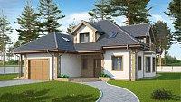 Вариант исполнения проекта дома Z58 z blk
