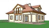 Проект дома Z58 z blk Фото 1