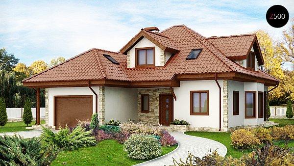 Проект дома Z58