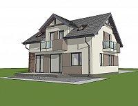Проект дома Z65 v2 Фото 3
