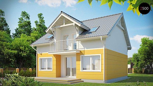 Проект дома Z65