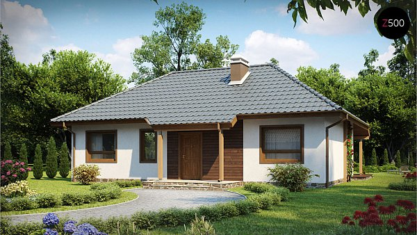 Проект дома Z69 dk
