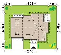 Минимальные размеры участка для проекта Z70