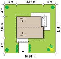 Минимальные размеры участка для проекта Z71