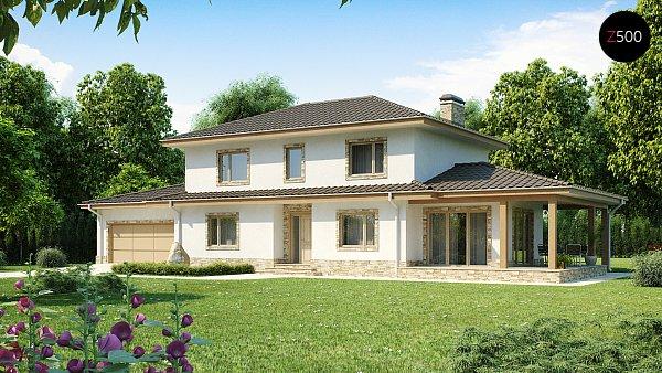 Проект дома Z74