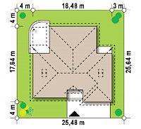 Минимальные размеры участка для проекта Z77