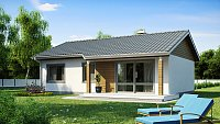 Проект дома в классическом стиле Z7