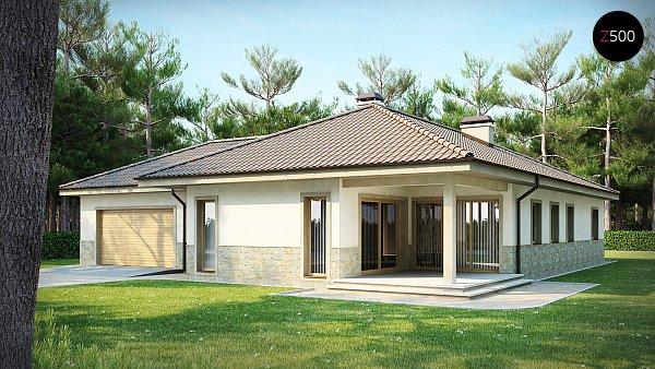 Проект дома Z80