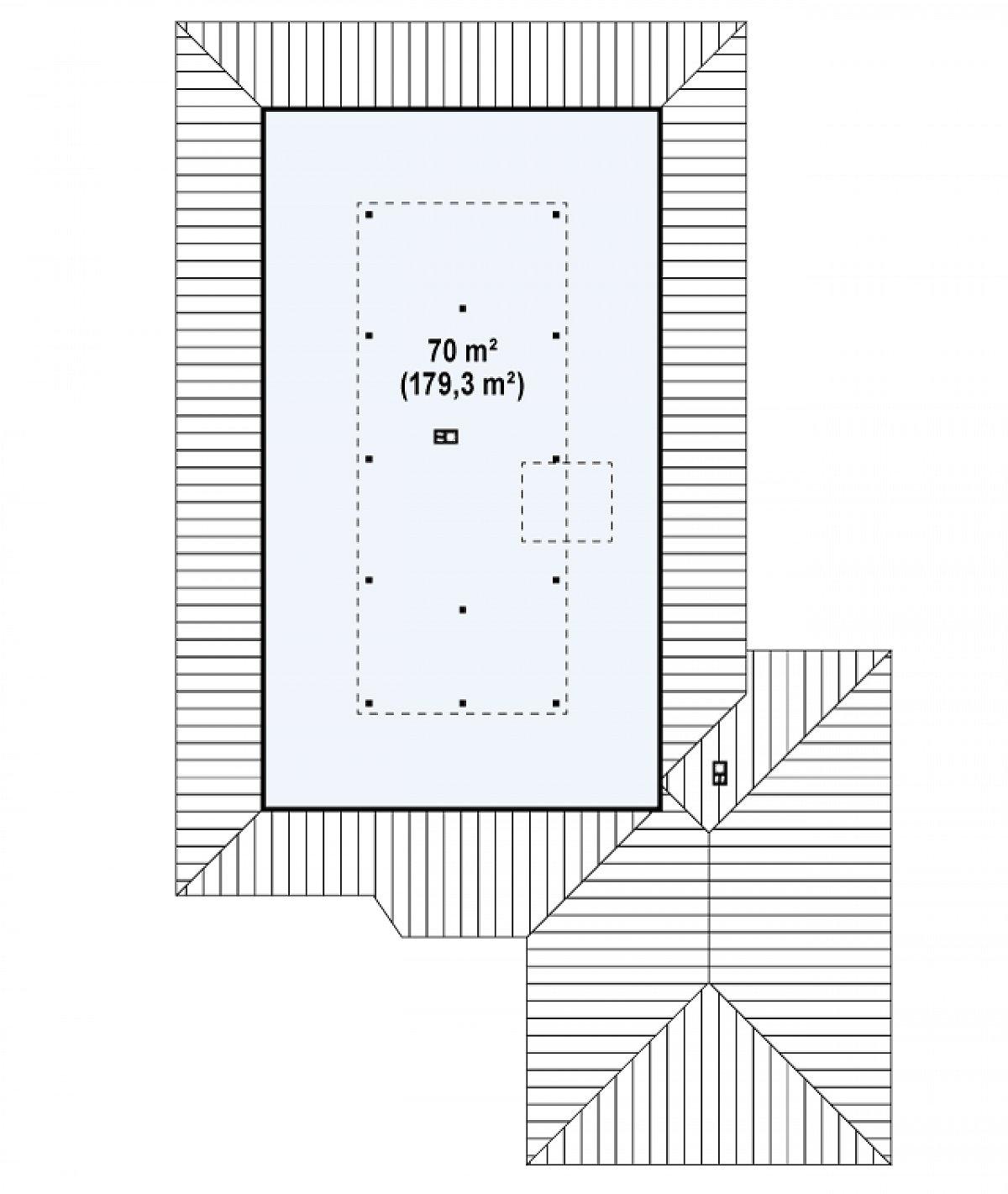 Второй этаж вскоре дома Z82