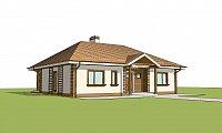 Проект дома Z86 bG Фото 2