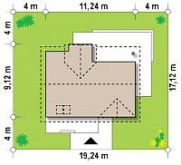 Минимальные размеры участка для проекта Z89