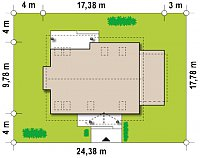 Минимальные размеры участка для проекта Z95 GL