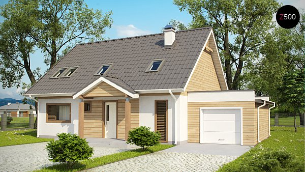 Проект дома Z95 GL