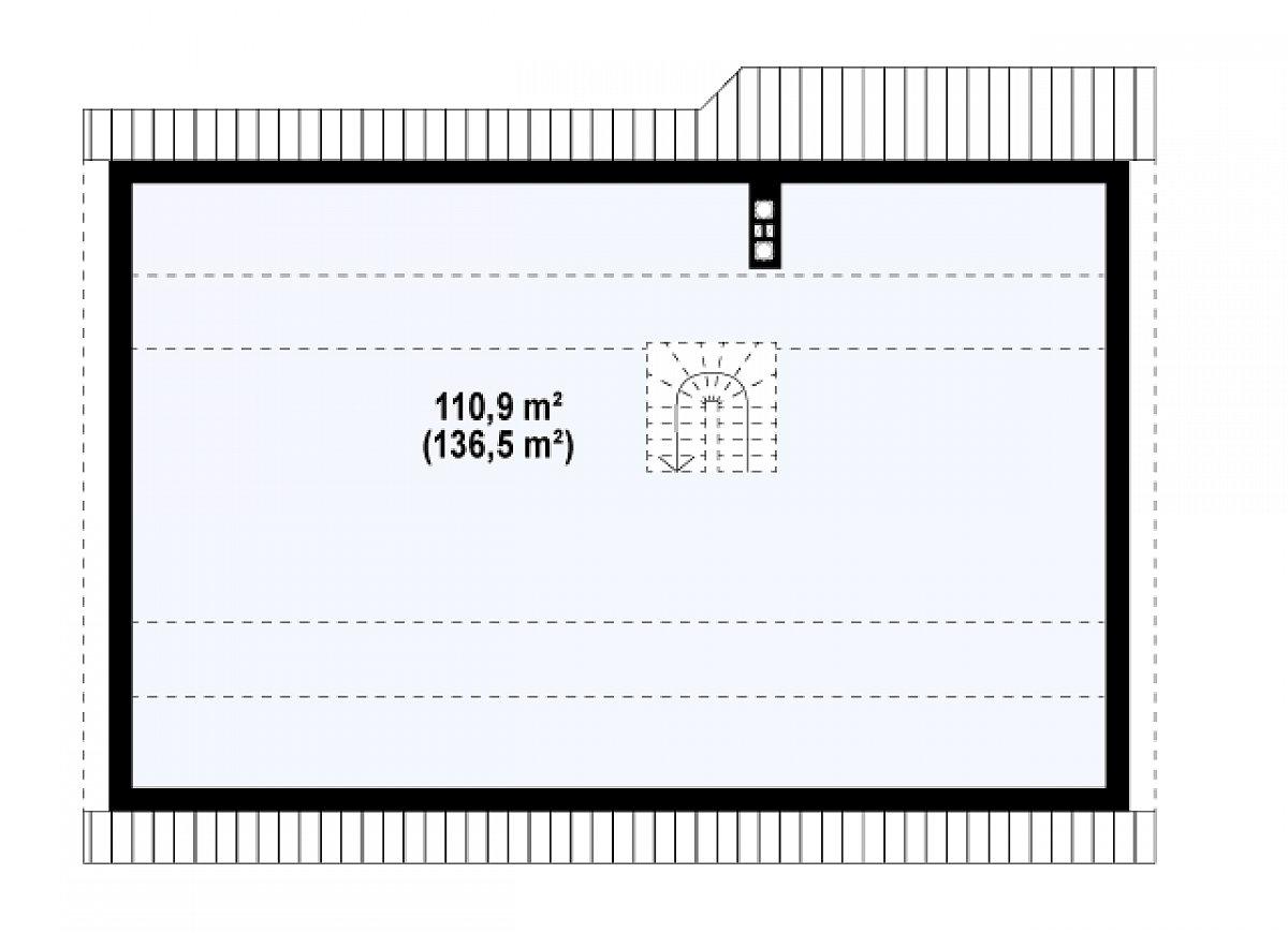 Второй этаж вскоре дома Z98