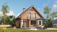 Вариант исполнения проекта дома Z99 k