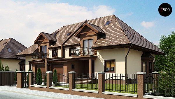 Проект дома Zb1