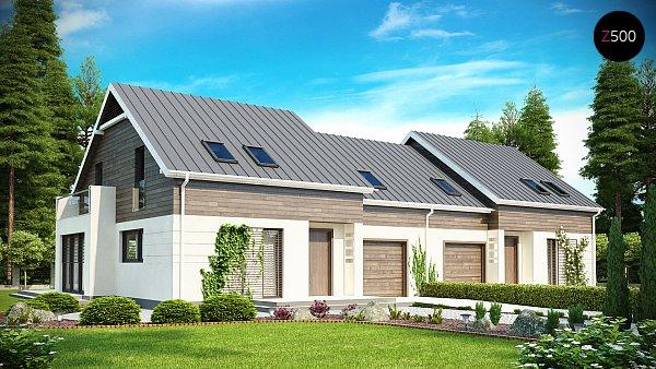 Проект дома Zb3
