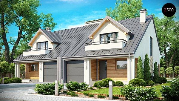 Проект дома Zb4