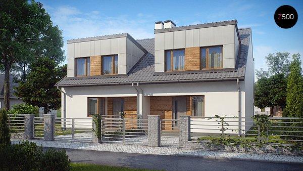 Проект дома Zb7