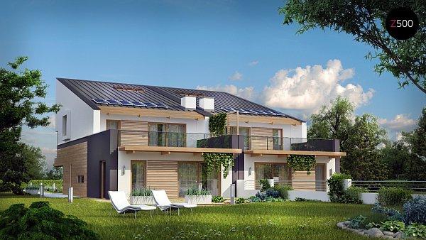 Проект дома Zb8